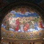 Pintura no altar