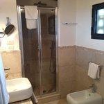 salle de bain de la suite numero 7