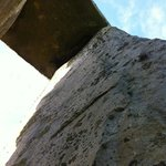 Looking up under the lintel