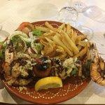 Brochette de calamar façon kebab