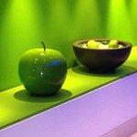 Le mele all'ingresso
