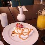 café da manhã perfeito..!!