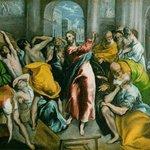 Иисус изгоняет спекулянтов из храма (Exspulsion de mercaderes del templo)