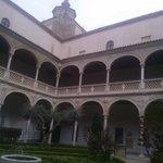 Дворик монастыря