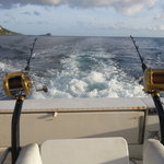 Fishing off the coast of Dominica
