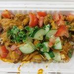 The Chicken Tikka with Masala Sauce