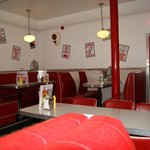 50's Diner style interior