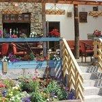 The Terrace Bar & Grill overlooks Clifden Bay