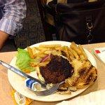 The burnt hamburger n.2