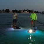 night paddle fun