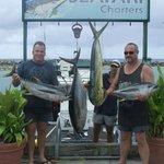 31kg tuna and good size mahimahi
