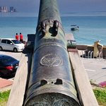 famous cannon at fort cornwallis