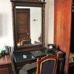 Desk/dressing area