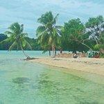 Island opposite Le Lagon