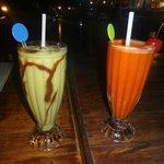 Avocado and carrot shake