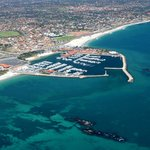 aerial view Hillarys Marina