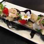 Steam bamboo clams