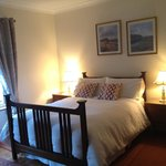 Lower level Guest Room at Green Lane House