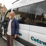 Tim- our amazing tour guide in Castle Combe