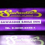 Sawasdee Smile Inn sign