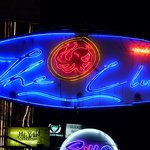 The Club sign on Khao San Road