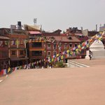 View from Stupa