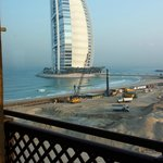 Burj Alarab and construction works