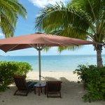 our own private beach site