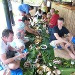 Fijian fish feast