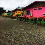 Coloridas casitas
