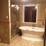 Room 101 - huge tub w/ separate shower