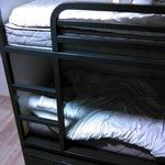 Кровати в 6-ти местном общем номере