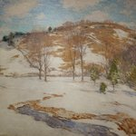 W. L. Metcalf. Snow in the Foothills
