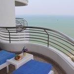 Вид с балкона на Сиамский залив
