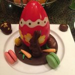 What Resort Mgt had arranged by the Chef for Easter