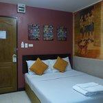 Our bedroom at Rikka Inn