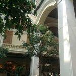 The Grande hotel lobby