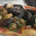 Sensational Seafood Pizza