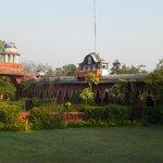 Hotel mit Garten