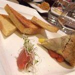 Foie gras aux langoustines