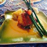 Mahi mahi stuffed w/lobster & crab...delish!