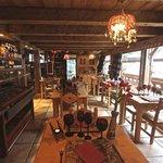 Salle de restaurant (Chalet Hotel Grange à Germaine)