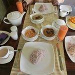 Splendid breakfast