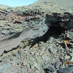 Застывшая лава (пещера)