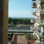 the sea view from the room