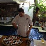Chef Dean at work