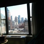 dalla nostra stanza al 16 piano della torre nord