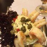Krabben als Vorspeise