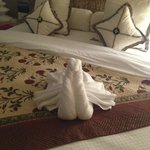 One of the regular towel animals!