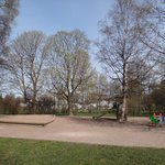 Площадка в парке возле отеля